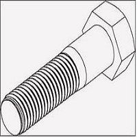 Galvanised Hex Bolts